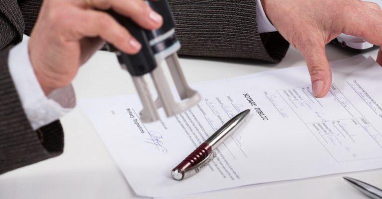 Как подписывается бумага?